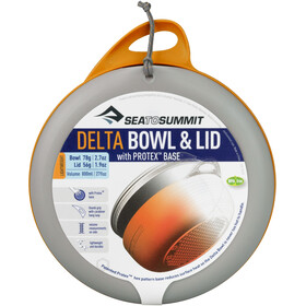 Sea to Summit Delta Bowl with Lid, orange